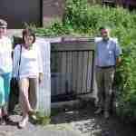 De initiatiefnemers nemen ook de ondergrondse kapel op in de Kapelletjesbaan. FOTO: FG